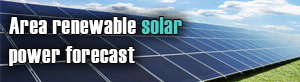 Area renewable solar power forecast
