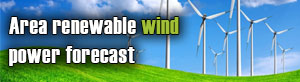 Area renewable wind power forecast