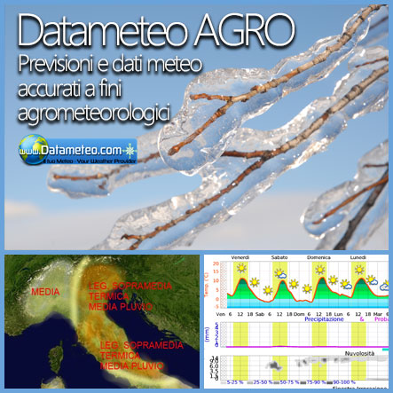 Datameteo Agro: Agriculture and Ambience