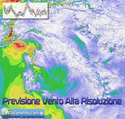 Previsione della ventosità ad alta risoluzione