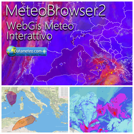 WebGis Meteo Interattivo
