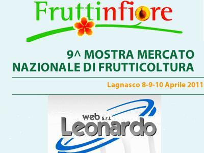 Fruttinfiore 2011 lo stand Datameteo e Leonardo Web