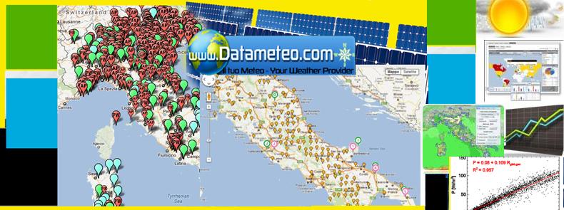 Piattaforma di validazione monitoraggio del dato meteorologico