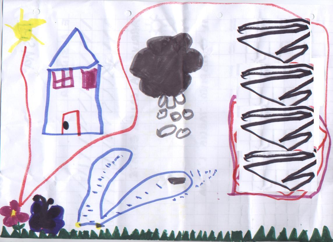 i segnali del tempo visti nei disegni dei bimbi