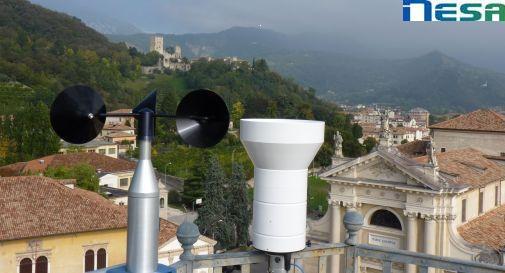NESA stazioni meteorologiche professionali anemometro e pluviometro ad alta capacità