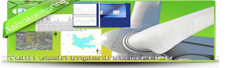 piattaforma eolic monitoring producibilit� eolica