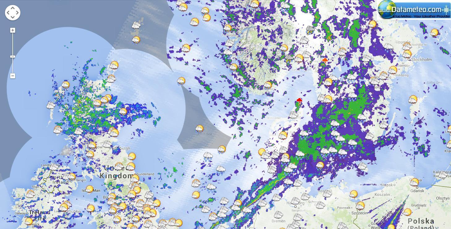 piattaforma Meteobrowser carte meteo modello WRF ad alta risoluzione