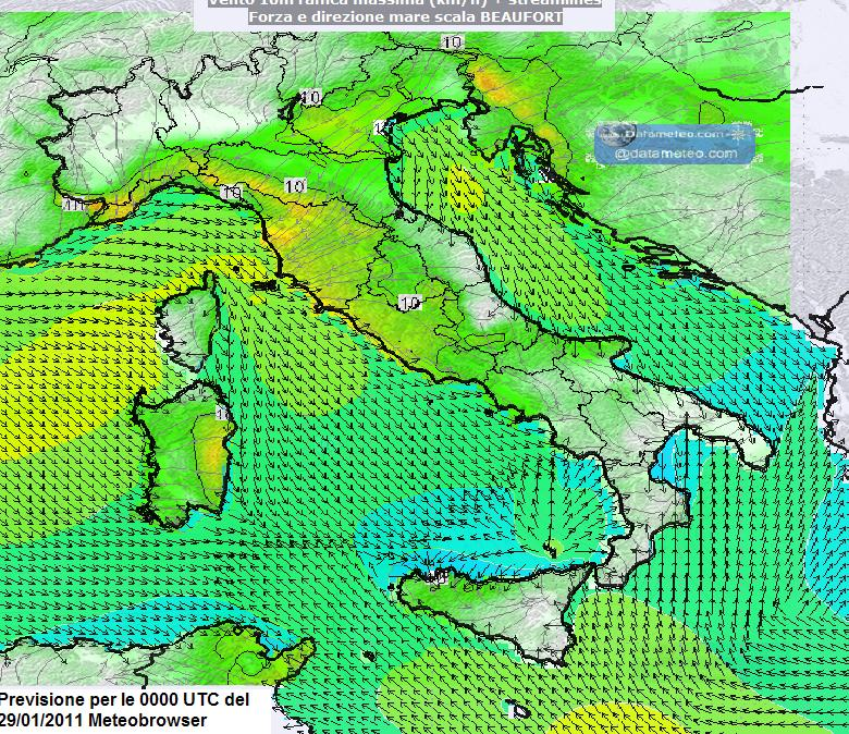 Meteobrowser piattaforma cartografica GIS all in one