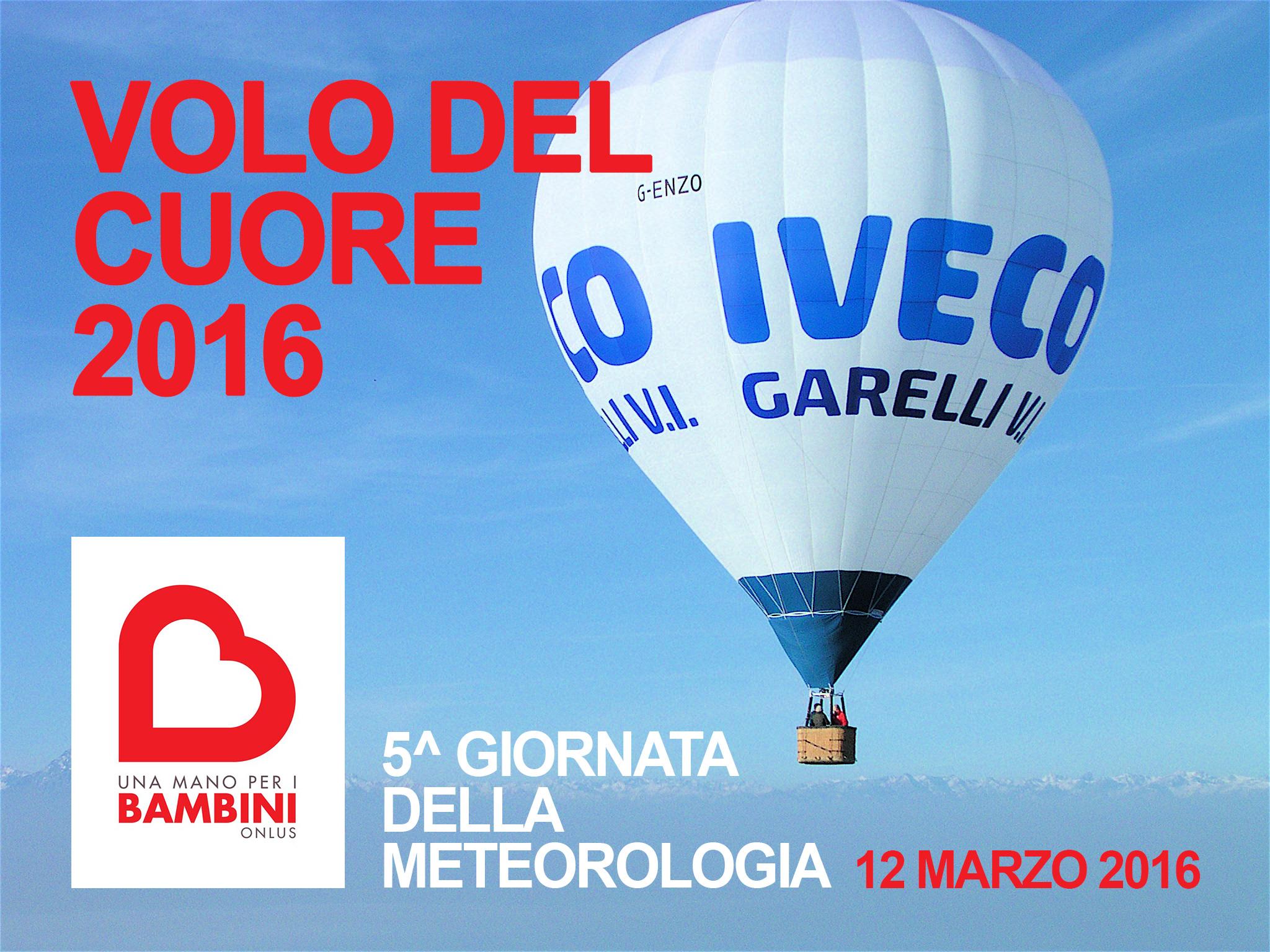 Volo del Cuore Evento 5° Giornata della Meteorologia
