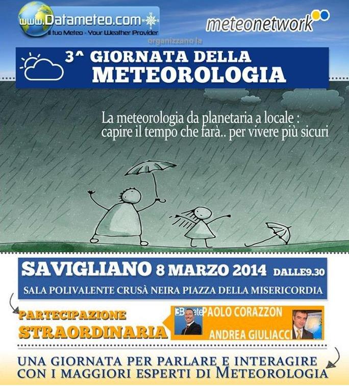 Logo 3° Giornata della Meteorologia